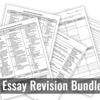 RTE Essay Revision and Editing Bundle
