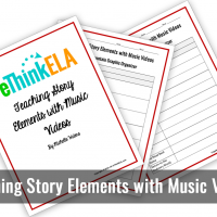 Teaching Story Elements with Music Videos