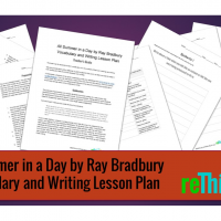 All Summer in a Day Vocabulary and Writing Lesson