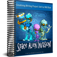 Space Alien Creative Writing Project