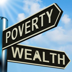 Poverty vs. Wealth