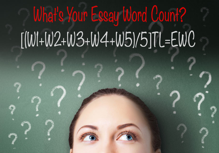 count how many words in my essay Admissions 101: what an essay word you would be amazed at how accurately application readers can estimate an essay's word count just what an essay word.