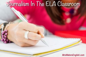 Journalism ELA Lessons