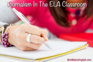 Journalism ELA Lessons
