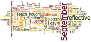 Reflective Teacher Blog Challenge