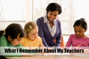 Remember Teachers