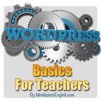 Special Report: WordPress Basics For Teachers
