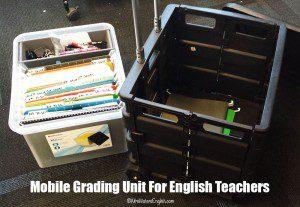 English Teacher: Mobile Grading Unit