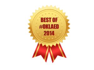 Best of #oklaed 2014
