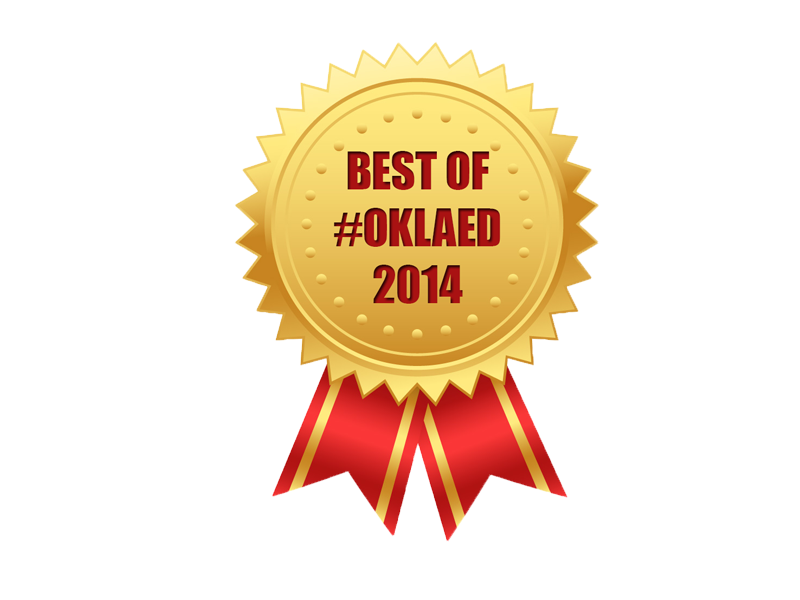 Best of #oklaed 2014