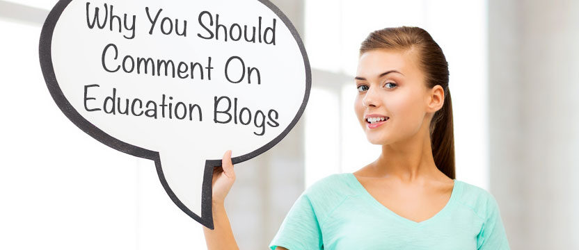 Why comment on blogs