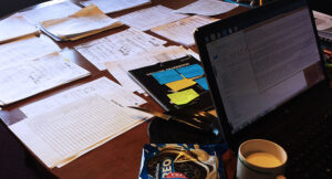 Paper grading table