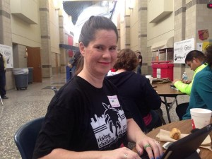 Mrs Waters at Edcamp OKC