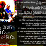 Tonight's #Oklaed Chat: The Power of a PLC