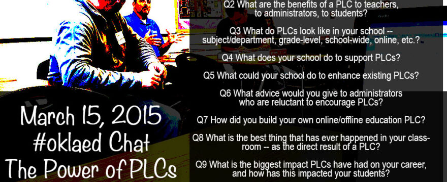 #Oklaed Twitter Chat Preview
