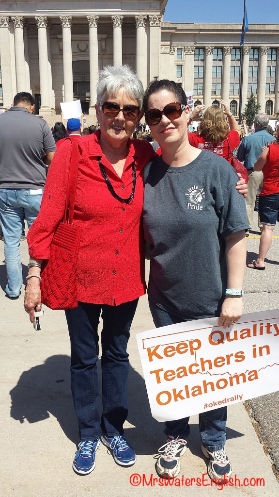 Oklahoma Educators and Bloggers Claudia Swisher and Michelle Waters