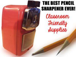The Best Pencil Sharpener Ever