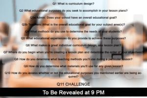 #oklaed Twitter Chat: Curriculum Design