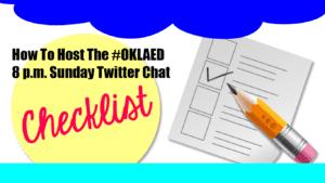 Twitter Chat Hosting Checklist