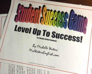 Student Success Game