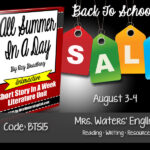 English Teachers: Check Out ELA Resources Back-To-School Sale!
