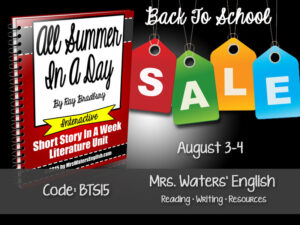 TpT Back to School Sale 2015
