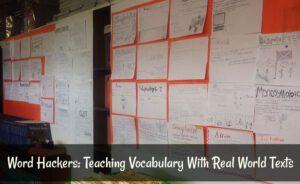 High School Word Wall