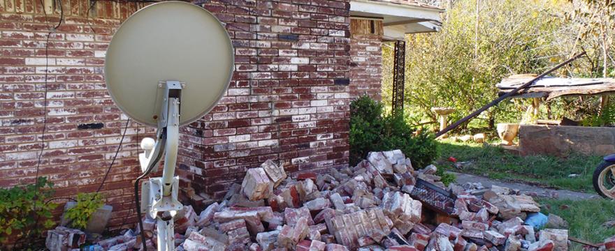2011 Oklahoma earthquake damage