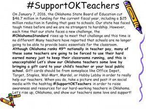 Support Oklahoma Teachers