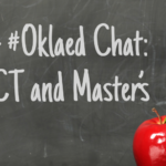 Upcoming #Oklaed Chat: NBCT and Masters