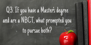 Q3 NBCT Masters
