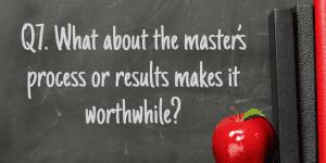Q7 NBCT Masters