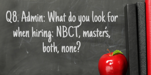 Q8 NBCT Masters