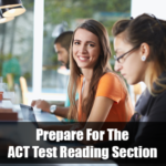 Prepare for the ACT reading exam