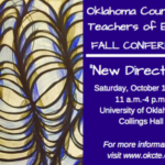 Oklahoma English Teachers: Join Me At OCTE