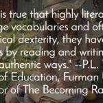 Literacy Skills Focus In School Eviscerates True Literacy