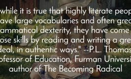 Literacy Skills Focus In School Eviscerates True Literacy