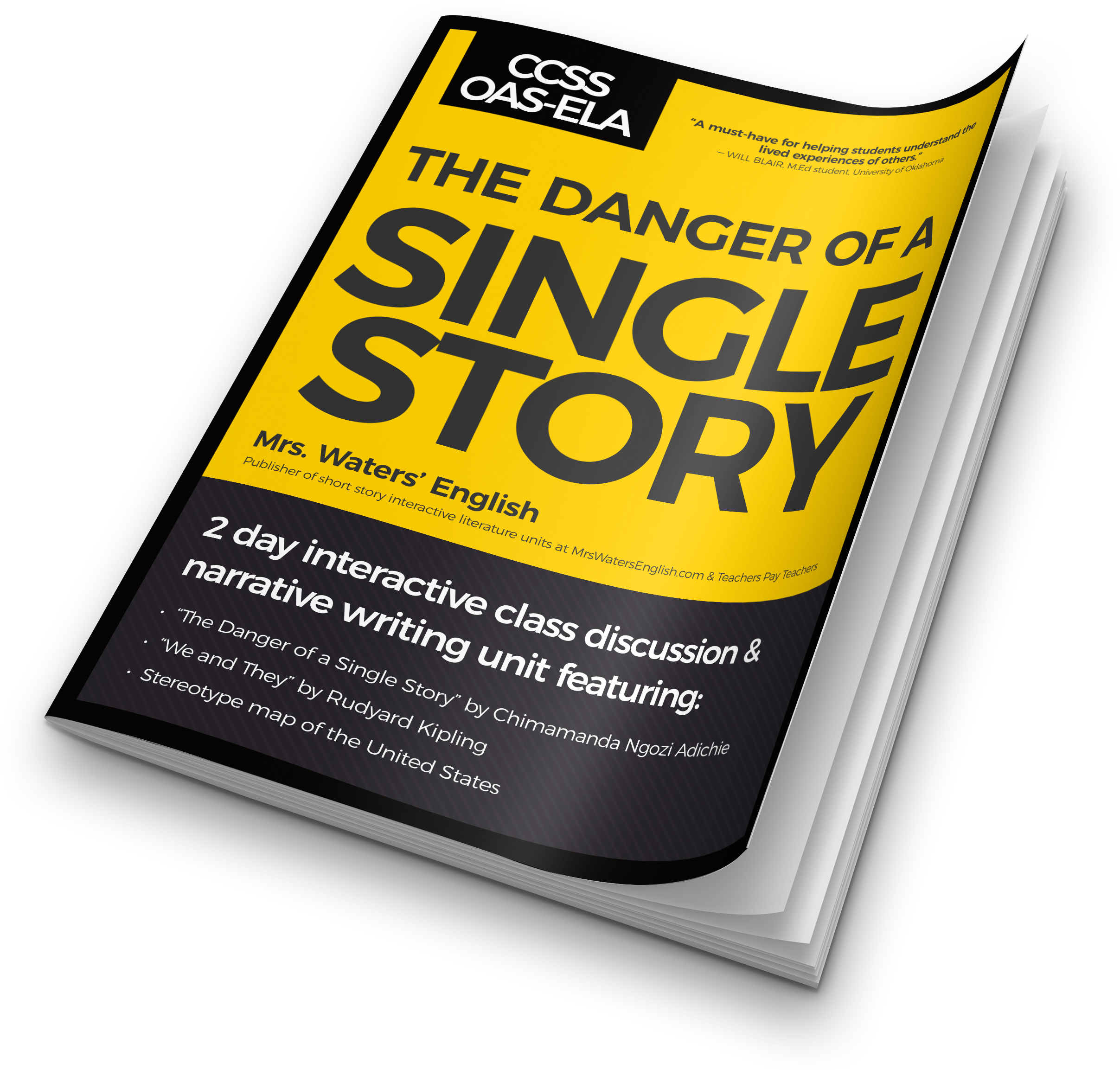 the danger of a single story - Halloween Short Stories Middle School