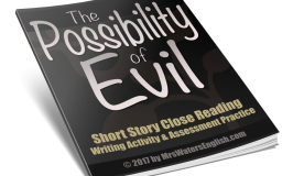 "Download ""The Possibility Of Evil"" Short Story For Halloween Today!"
