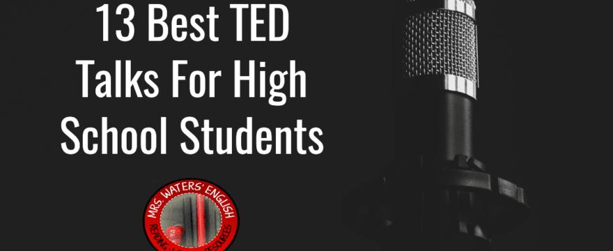 Best TED Talks High School