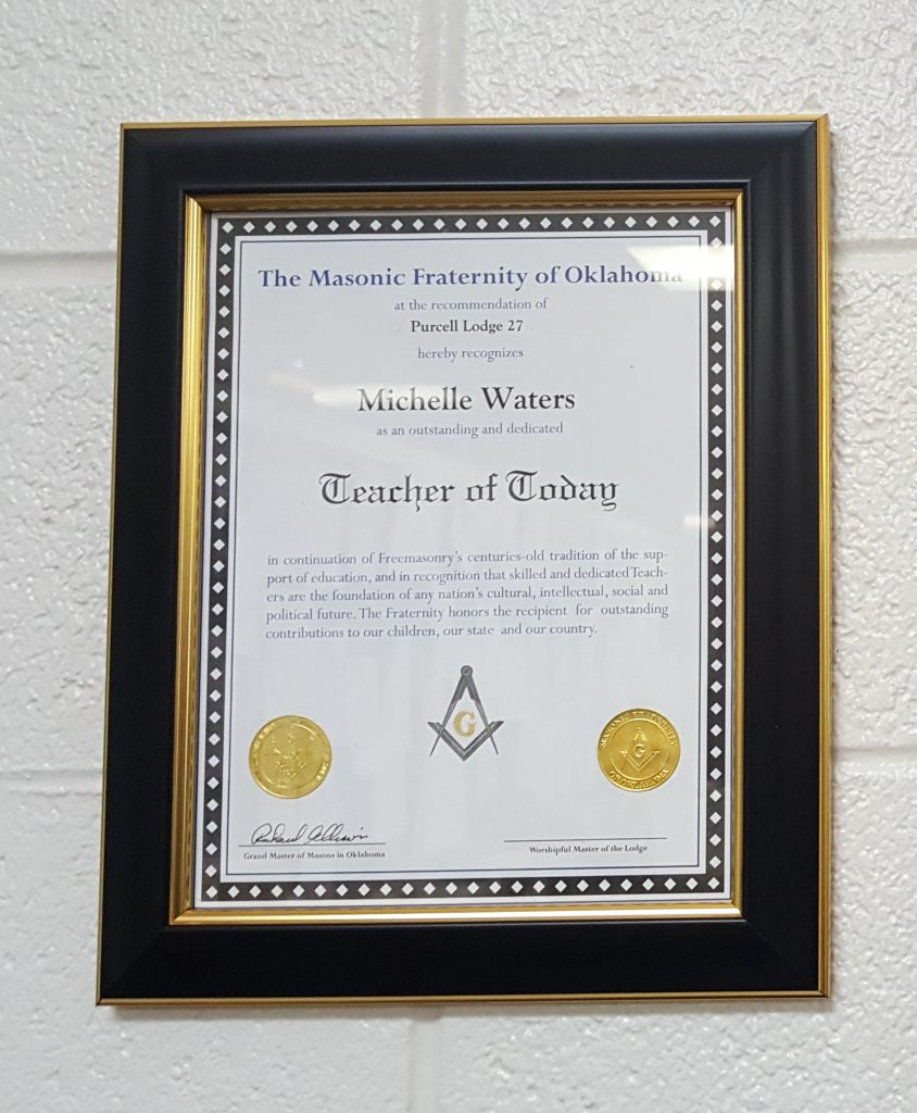 Michelle Waters: Masonic Teacher of Today