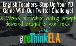 Anyone Up For A #reThinkELA Twitter Challenge?