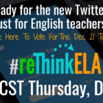 #reThinkELA Chat Poll