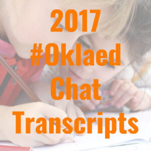 2017 Oklaed Chat Transcripts