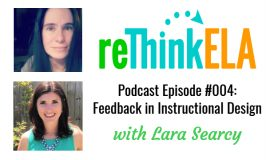 reThink ELA #004: Interview with Lara Searcy