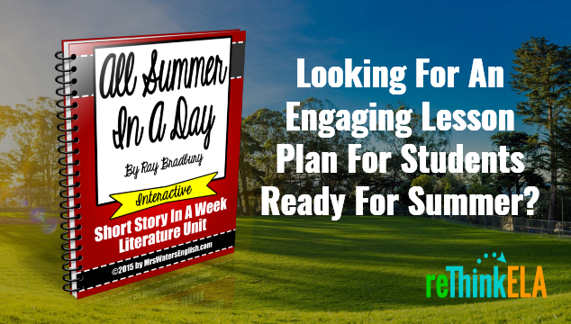 All Summer In A Day Lesson Plans