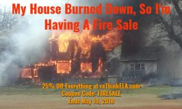 My House Burned Down, So I'm Holding A Fire Sale