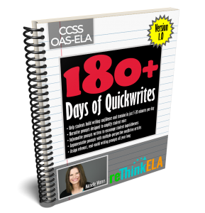 180 Days of Quickwrites