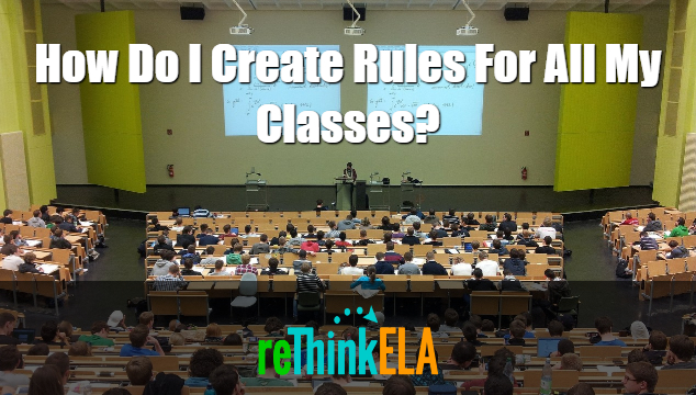 How do I create rules for all my classes?