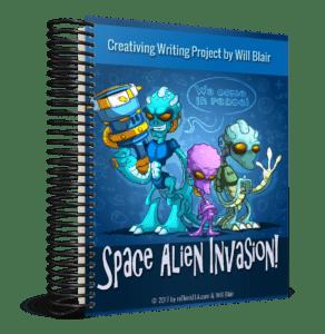 Space Alien Invasion Creative Writing Unit